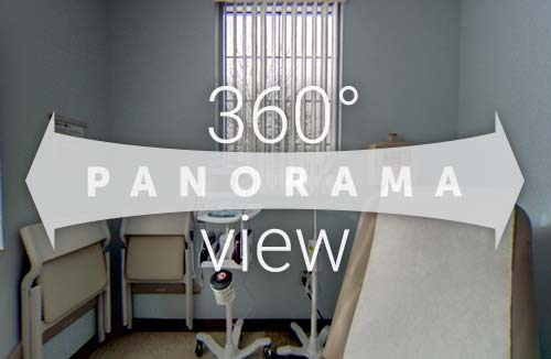 360 Panorama - Radiation Exam Room